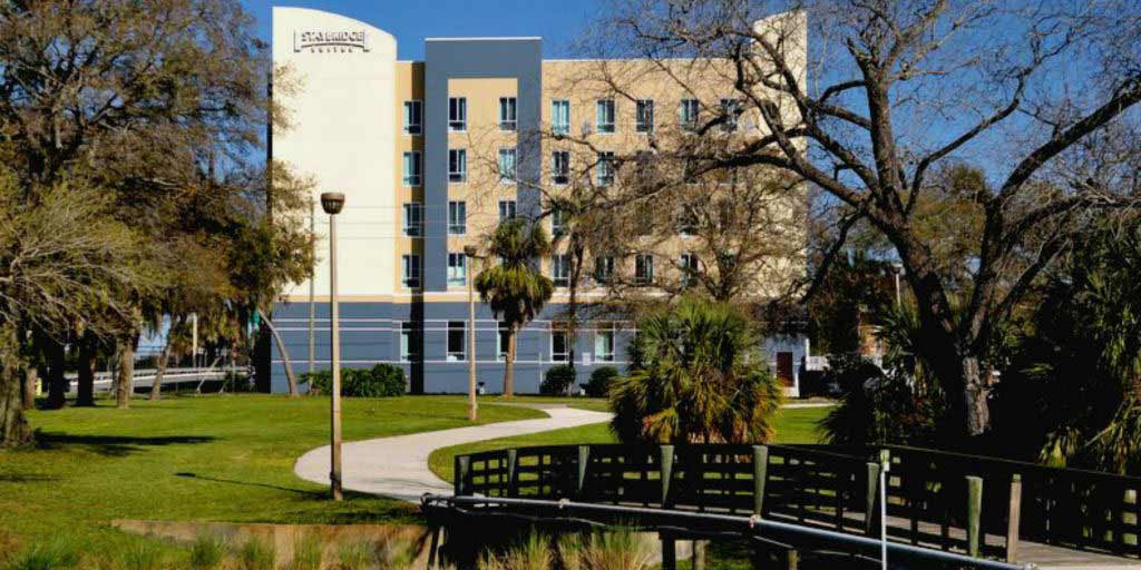 The Staybridge Suites Hotel in St. Petersburg, Florida