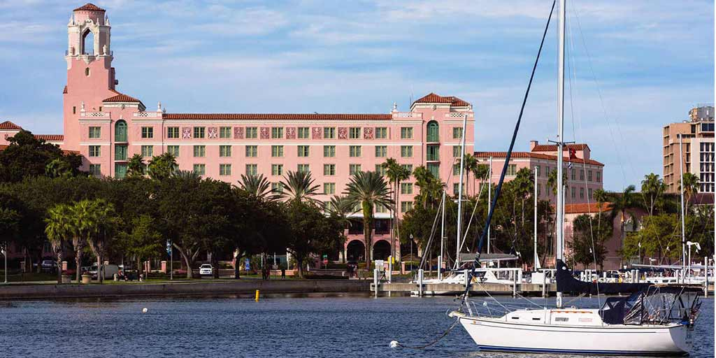 The Vinoy Renaissance hotel in St. Petersburg Florida