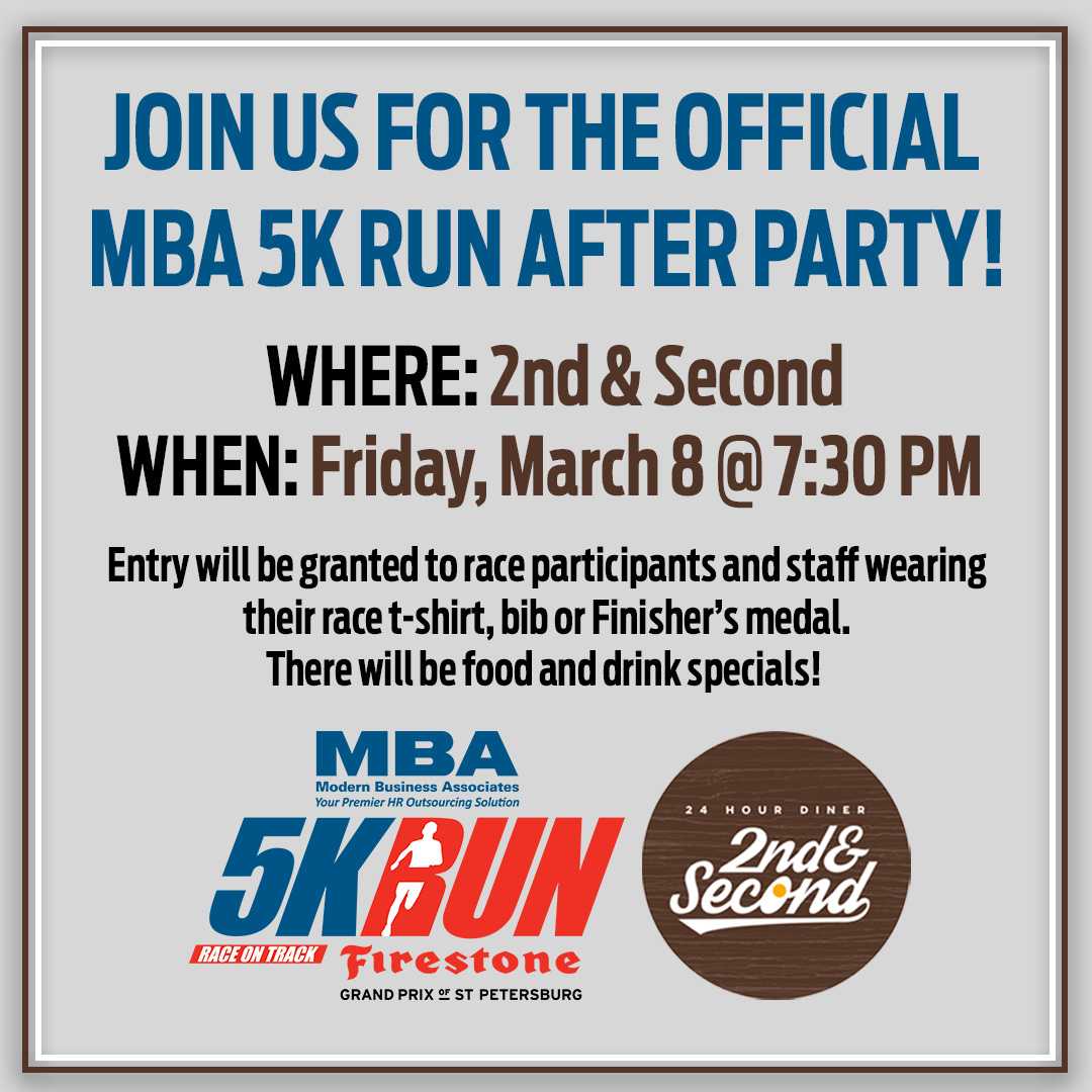 MBA 5K Run after party image